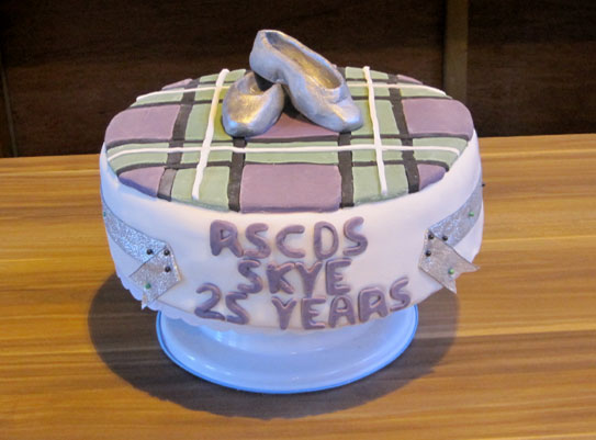 Royal Scottish Country Dance Society Skye Branch 25th Anniversary